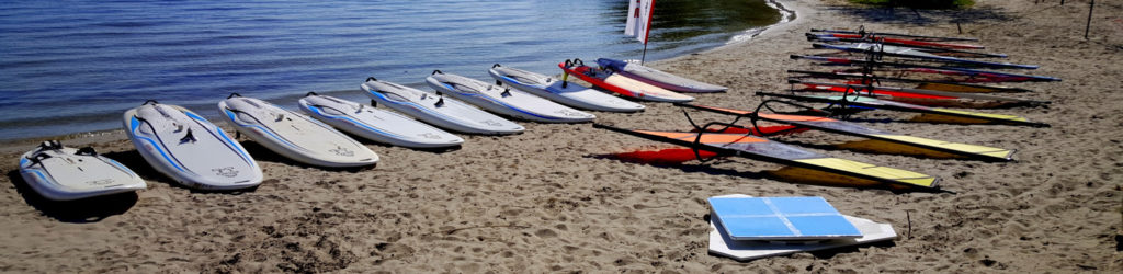 windsurf materiaal surfschool zeewolde