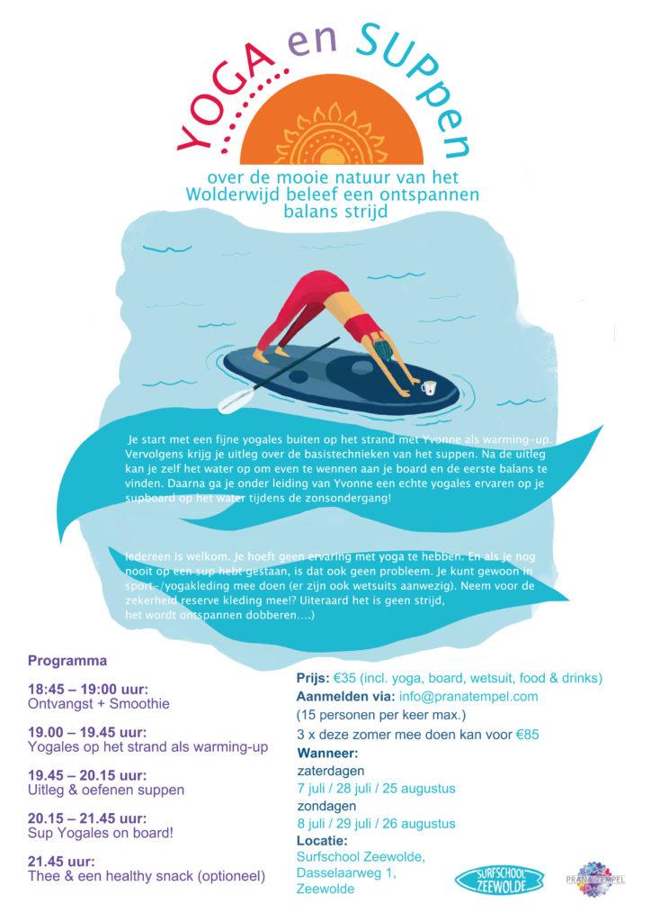 YOGA en SUPpen @ Surfschool Zeewolde | Zeewolde | Flevoland | Nederland